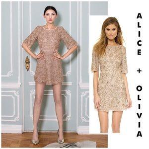 "96ff23bc45 Alice + Olivia Dresses - Alice + Olivia ""Drina"" embellished dress 8"
